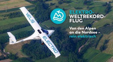 Der Elektro-Weltrekordflug