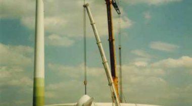 Rotorsternzug der WEA Regensburg 1998